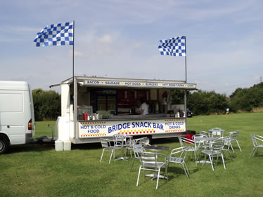 derby burger van hire